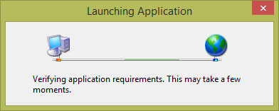 Picture of Installation: Launching Application